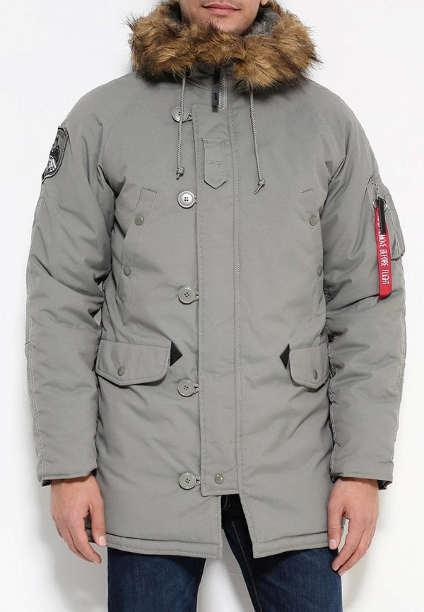 Утепленная куртка Alpha Industries (Альфа Индастриз) 199.MJA43917C1..ALASKA GREEN: изображение 3