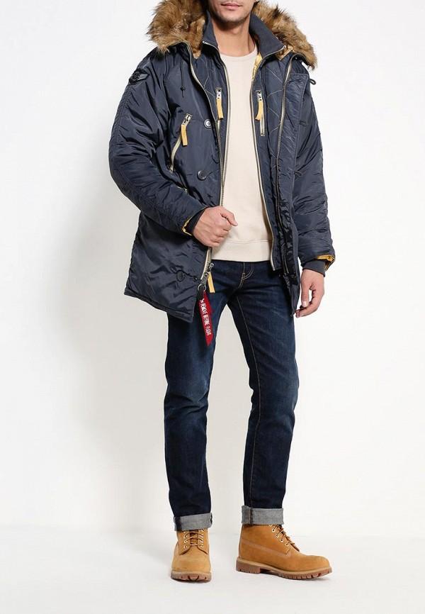Утепленная куртка Alpha Industries 199.MJN44512C1..Steel Blue: изображение 2