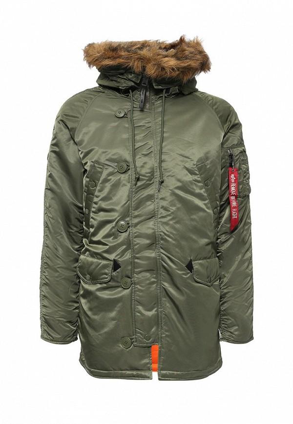 Утепленная куртка Alpha Industries 199.MJN31210C1..Sage/Orange: изображение 1