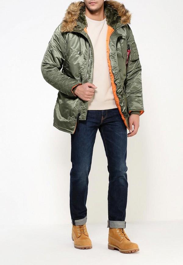 Утепленная куртка Alpha Industries 199.MJN31210C1..Sage/Orange: изображение 2