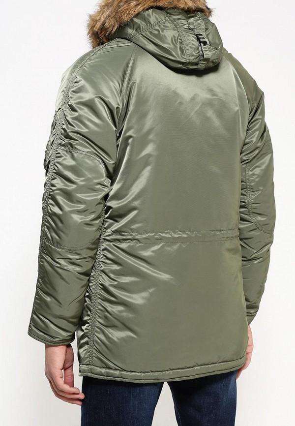 Утепленная куртка Alpha Industries 199.MJN31210C1..Sage/Orange: изображение 4