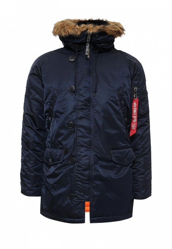 Утепленная куртка Alpha Industries 199.MJN31210C1..REPLICA BLUE/ORANGE