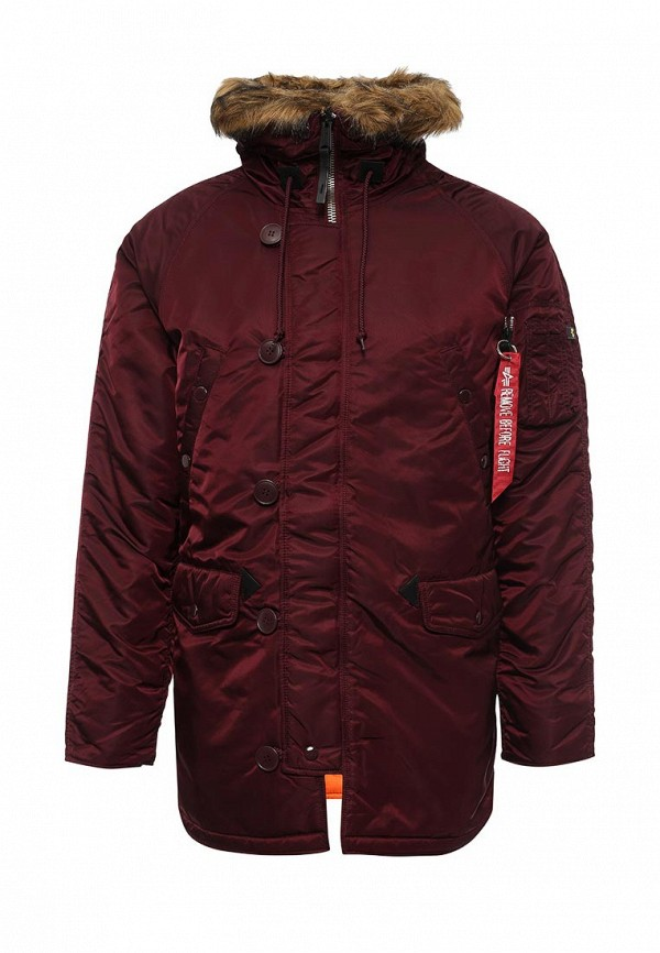 Утепленная куртка Alpha Industries 199.MJN31210C1..Maroon/Orange: изображение 1