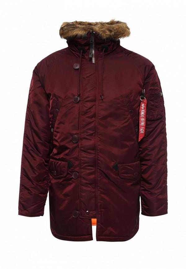 Утепленная куртка Alpha Industries 199.MJN31210C1..Maroon/Orange