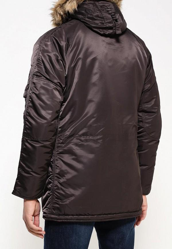Утепленная куртка Alpha Industries (Альфа Индастриз) 199.MJN31210C1..Deep Brown/Orange: изображение 4