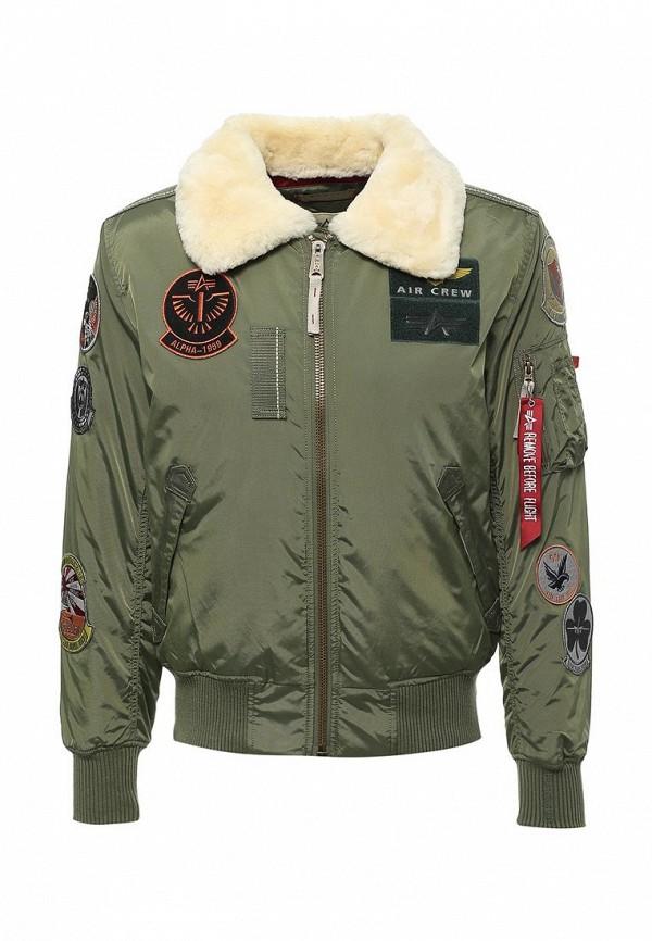 Куртка утепленная Alpha Industries Alpha Industries AL507EMUHL09 one by alpha industries свободная куртка souvenir с изображением тигров