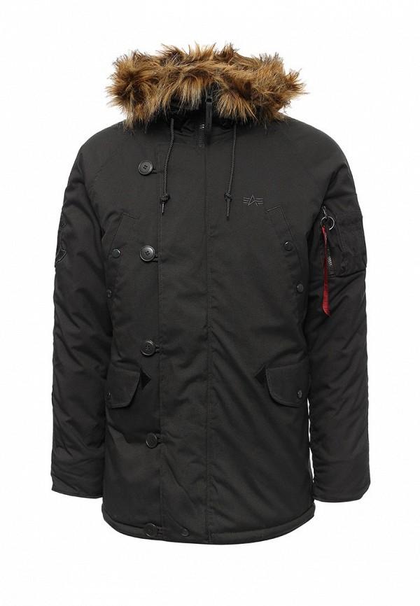 Куртка утепленная Alpha Industries Alpha Industries AL507EMUHL18 one by alpha industries свободная куртка souvenir с изображением тигров