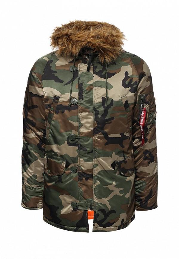 Куртка утепленная Alpha Industries Alpha Industries AL507EMUHL21 one by alpha industries свободная куртка souvenir с изображением тигров