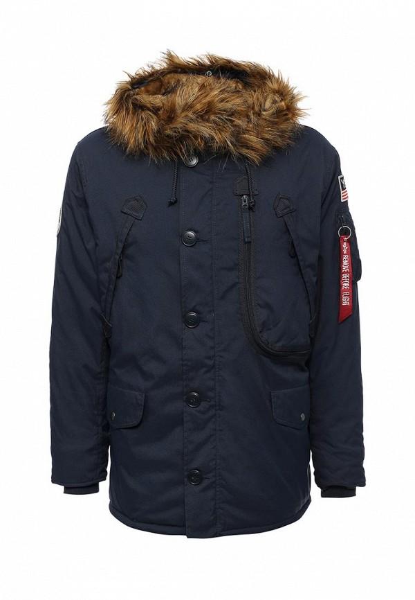 Куртка утепленная Alpha Industries Alpha Industries AL507EMUHL23 one by alpha industries свободная куртка souvenir с изображением тигров