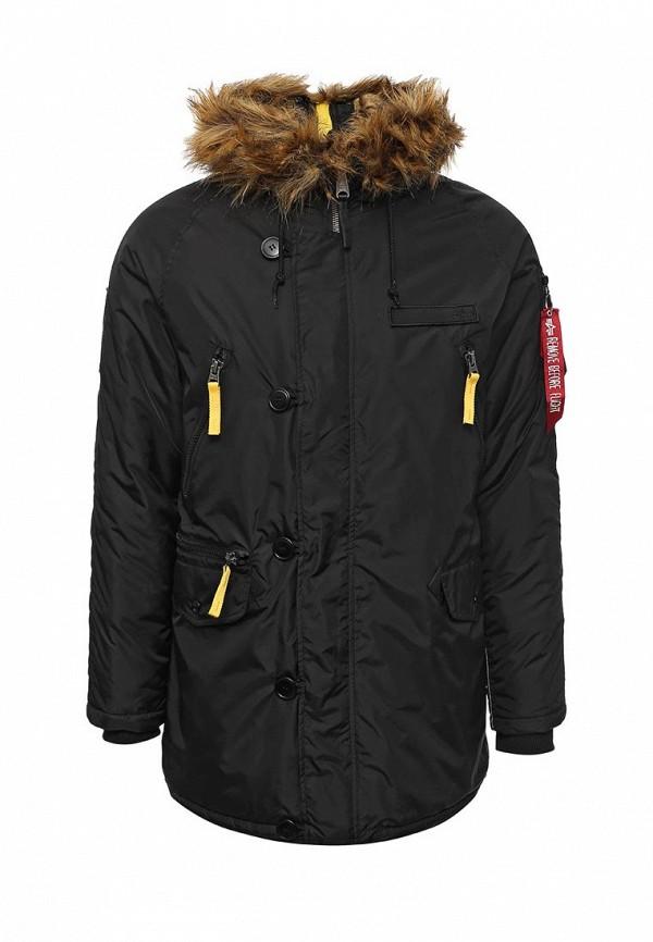 Куртка утепленная Alpha Industries Alpha Industries AL507EMUHL24 one by alpha industries свободная куртка souvenir с изображением тигров