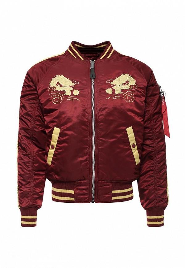 Куртка утепленная Alpha Industries Alpha Industries AL507EMUHN27 one by alpha industries свободная куртка souvenir с изображением тигров