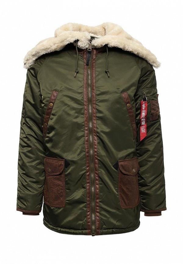 Куртка утепленная Alpha Industries Alpha Industries AL507EMUHN30 one by alpha industries свободная куртка souvenir с изображением тигров