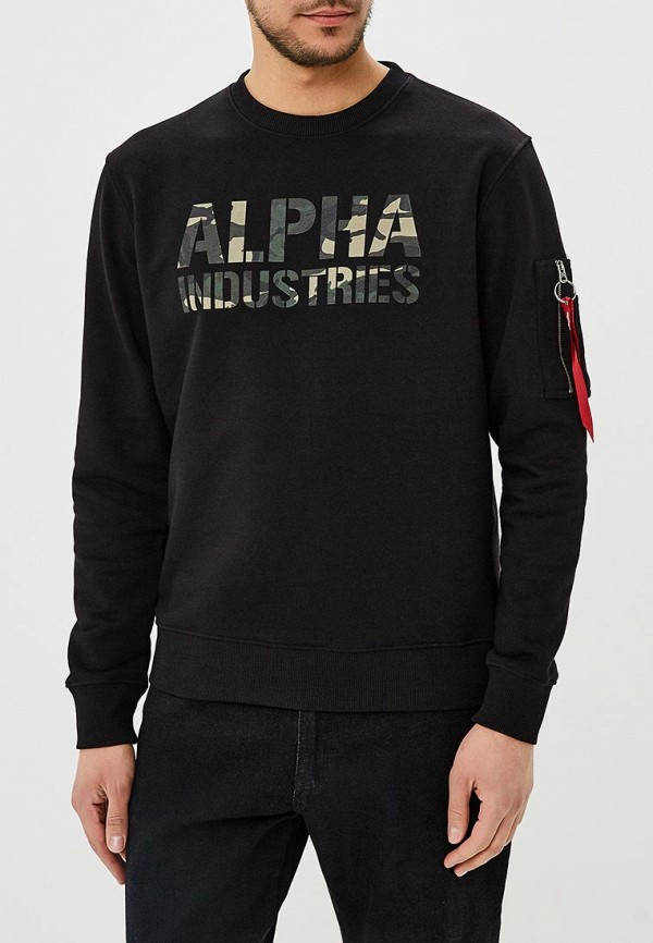 Свитшот Alpha Industries Alpha Industries AL507EMZZR40 цена и фото