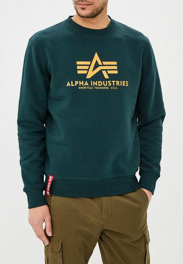 Свитшот Alpha Industries Alpha Industries AL507EMZZR42 цена и фото