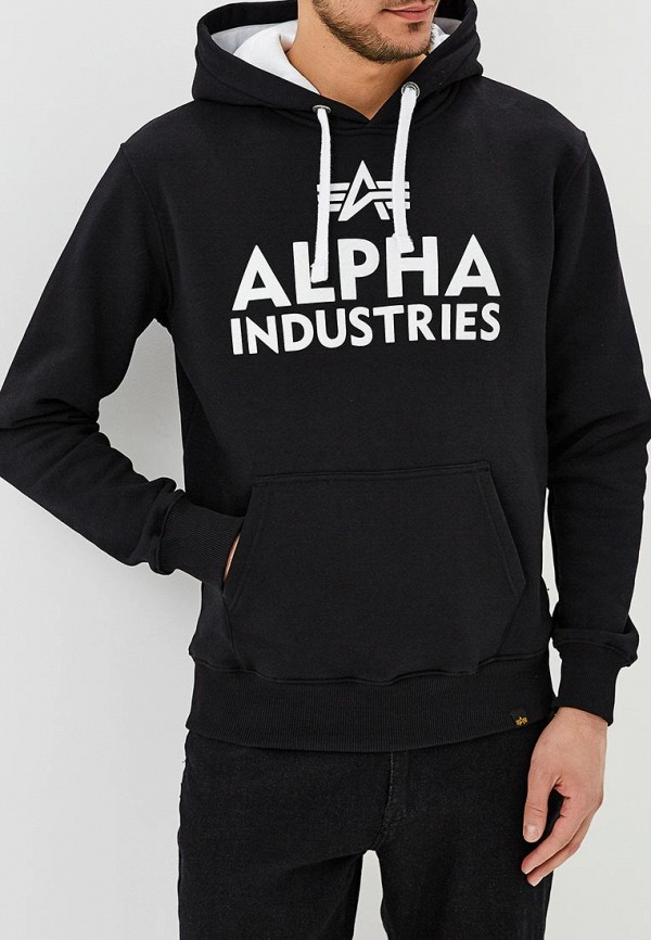 Худи Alpha Industries Alpha Industries AL507EMZZR44 цена и фото