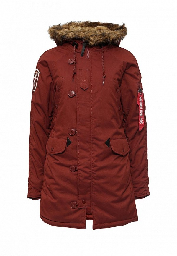 Парка Alpha Industries 199.WJA44503C1..RED OCHRE