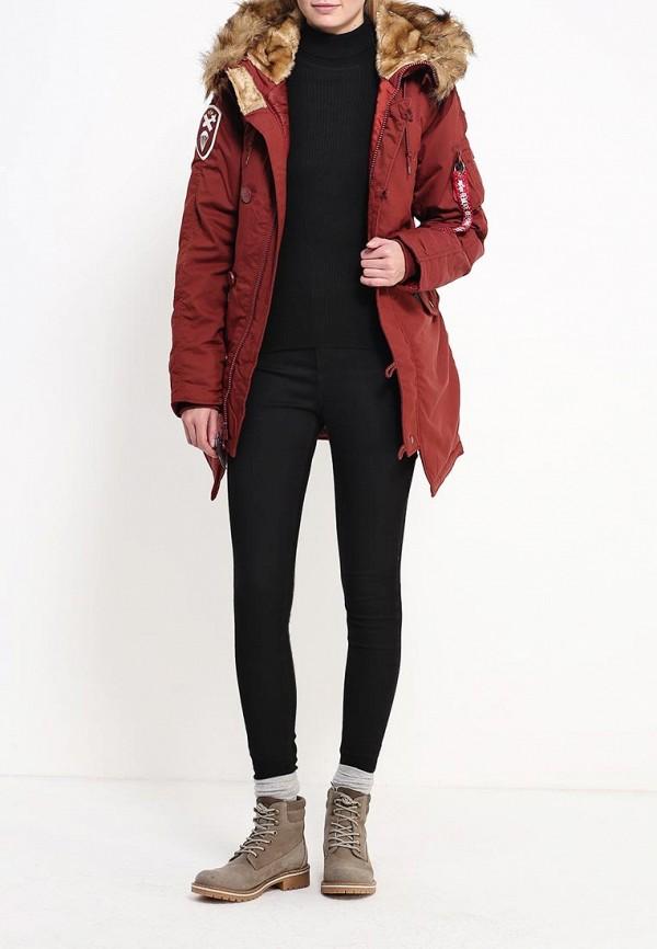 Куртка Alpha Industries (Альфа Индастриз) 199.WJA44503C1..RED OCHRE: изображение 2