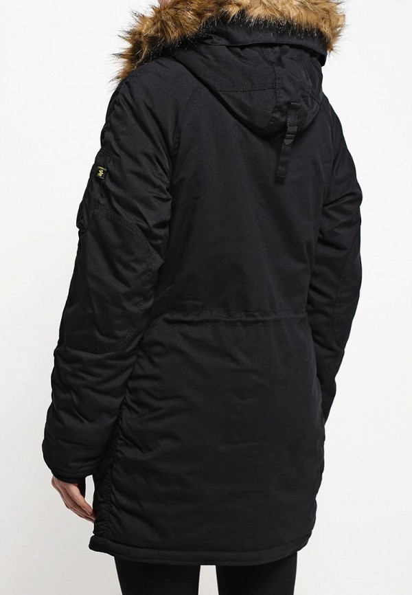 Куртка Alpha Industries 199.WJA44503C1..BLACK: изображение 4