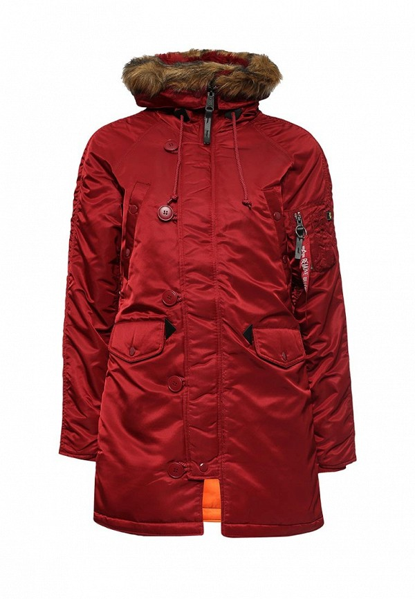 Парка Alpha Industries 199.WJN44502C1..COMMANDER RED