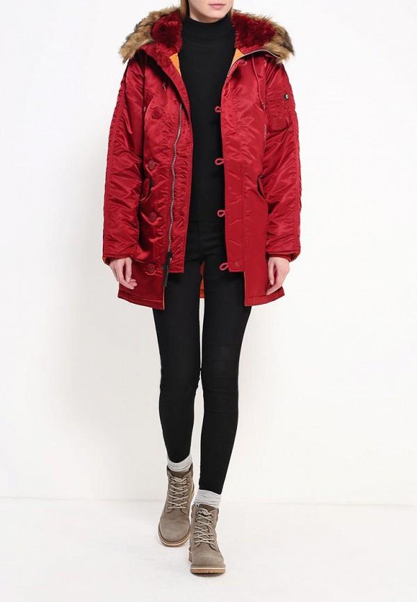Утепленная куртка Alpha Industries (Альфа Индастриз) 199.WJN44502C1..COMMANDER RED: изображение 2