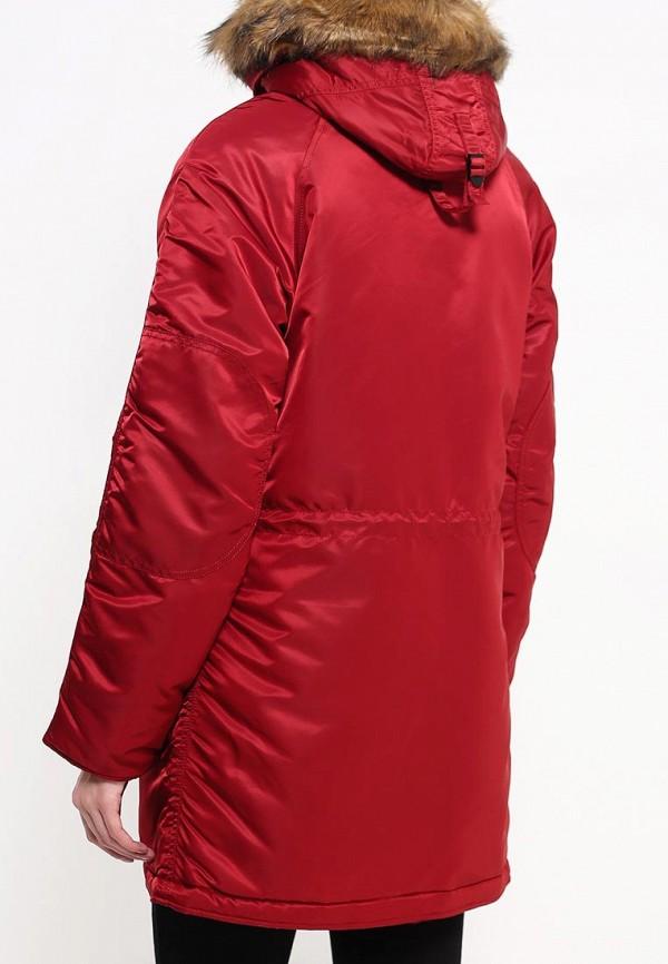 Утепленная куртка Alpha Industries (Альфа Индастриз) 199.WJN44502C1..COMMANDER RED: изображение 4