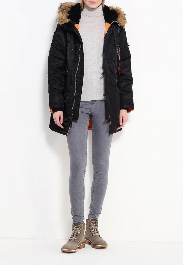 Куртка Alpha Industries (Альфа Индастриз) 199.WJN44502C1..BLACK: изображение 2