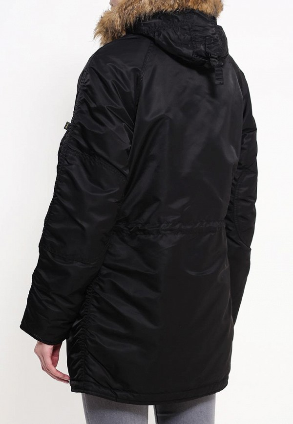 Куртка Alpha Industries (Альфа Индастриз) 199.WJN44502C1..BLACK: изображение 4