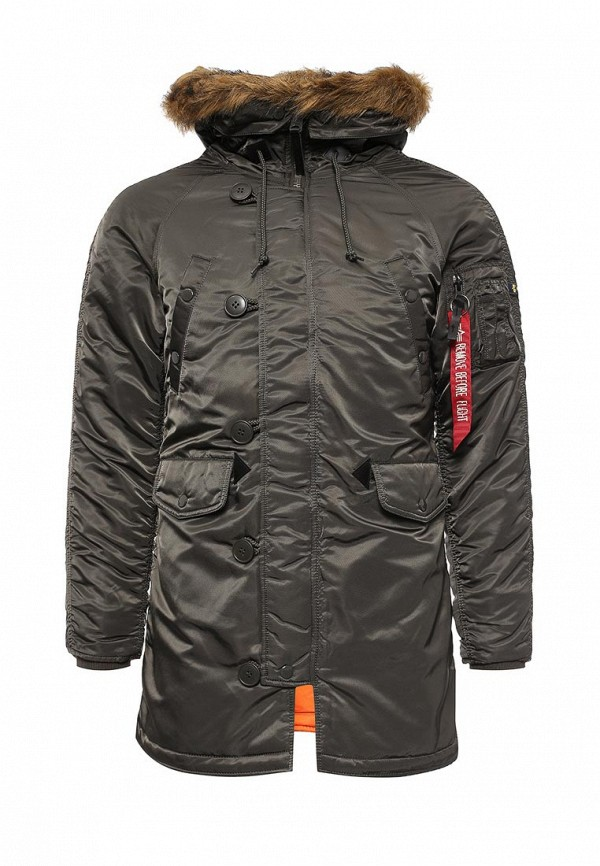 Пуховик Alpha Industries (Альфа Индастриз) 199.WJN44502C1..REPLICA GREY: изображение 1