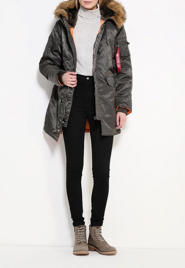 Пуховик Alpha Industries (Альфа Индастриз) 199.WJN44502C1..REPLICA GREY: изображение 3