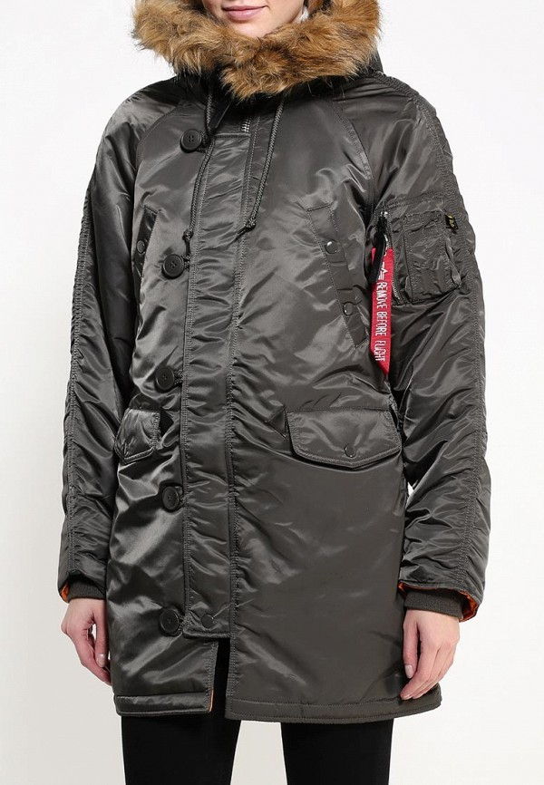 Пуховик Alpha Industries (Альфа Индастриз) 199.WJN44502C1..REPLICA GREY: изображение 4