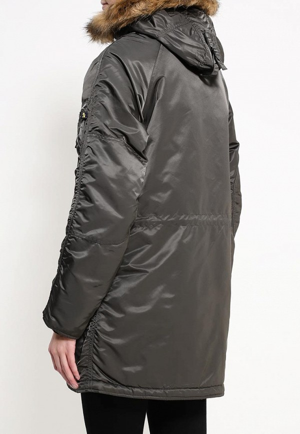 Пуховик Alpha Industries (Альфа Индастриз) 199.WJN44502C1..REPLICA GREY: изображение 5