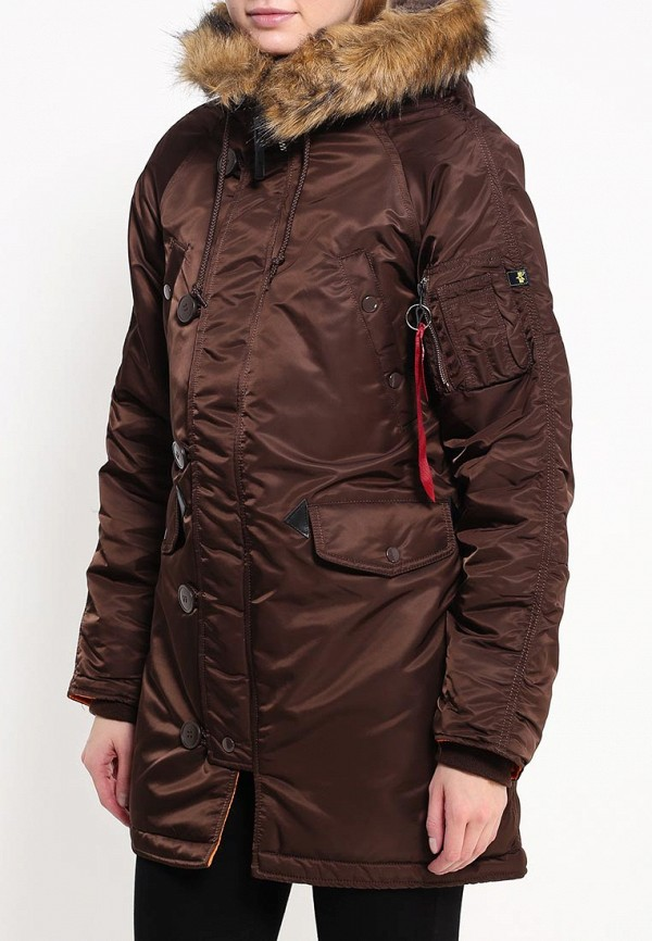 Куртка Alpha Industries (Альфа Индастриз) 199.WJN44502C1..COCOA: изображение 3