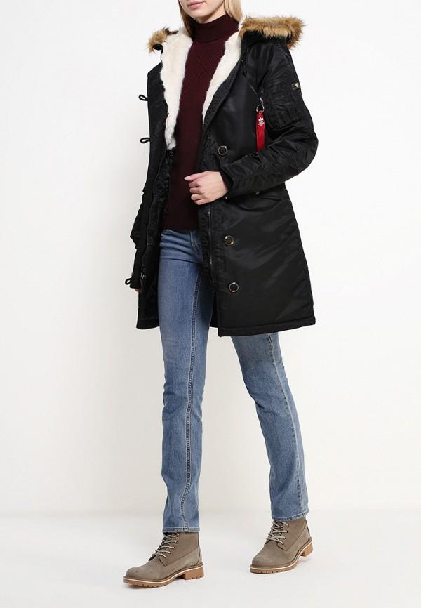 Утепленная куртка Alpha Industries (Альфа Индастриз) 199.WJE45500C1..BLACK: изображение 2