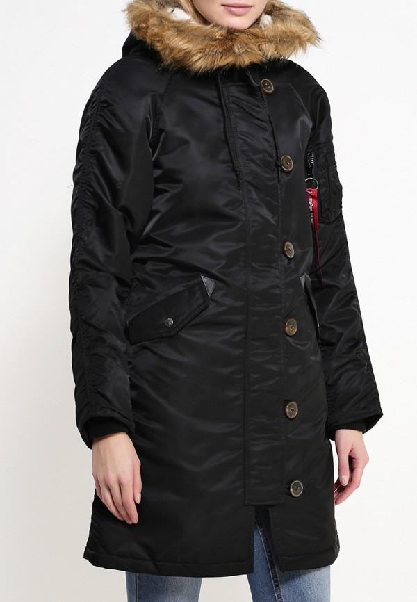 Утепленная куртка Alpha Industries (Альфа Индастриз) 199.WJE45500C1..BLACK: изображение 3