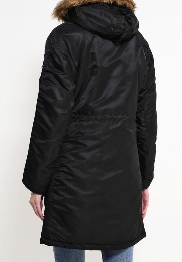 Утепленная куртка Alpha Industries (Альфа Индастриз) 199.WJE45500C1..BLACK: изображение 4