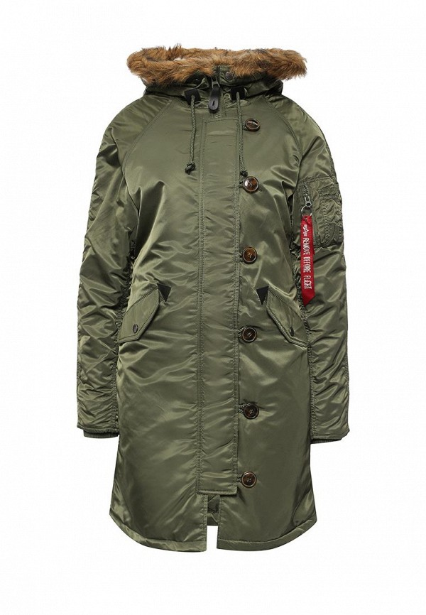 Парка Alpha Industries 199.WJE45500C1..SAGE GREEN