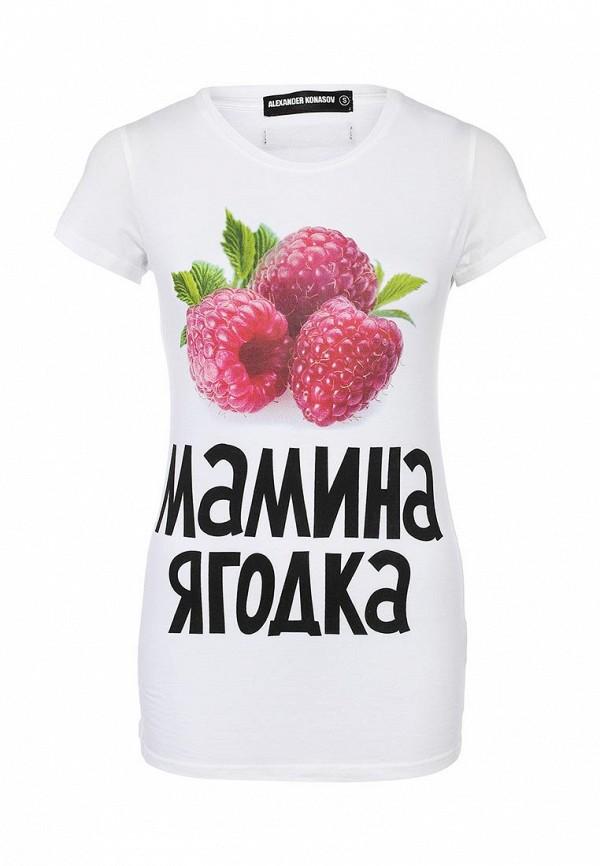 Футболка с надписями ALEXANDER KONASOV 1000282: изображение 1