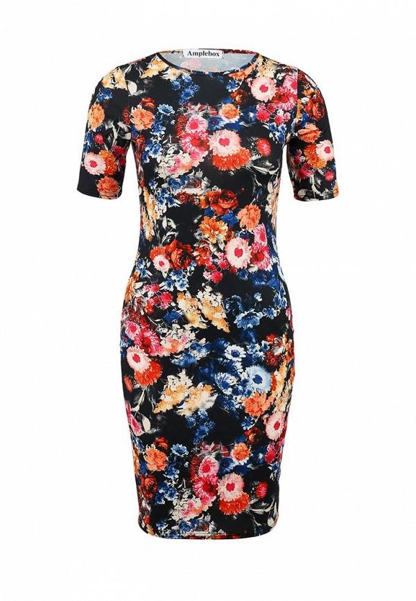 Платье-миди Amplebox 13516A: изображение 1