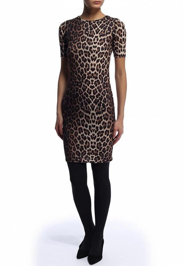 Платье-миди Amplebox 13516B: изображение 3
