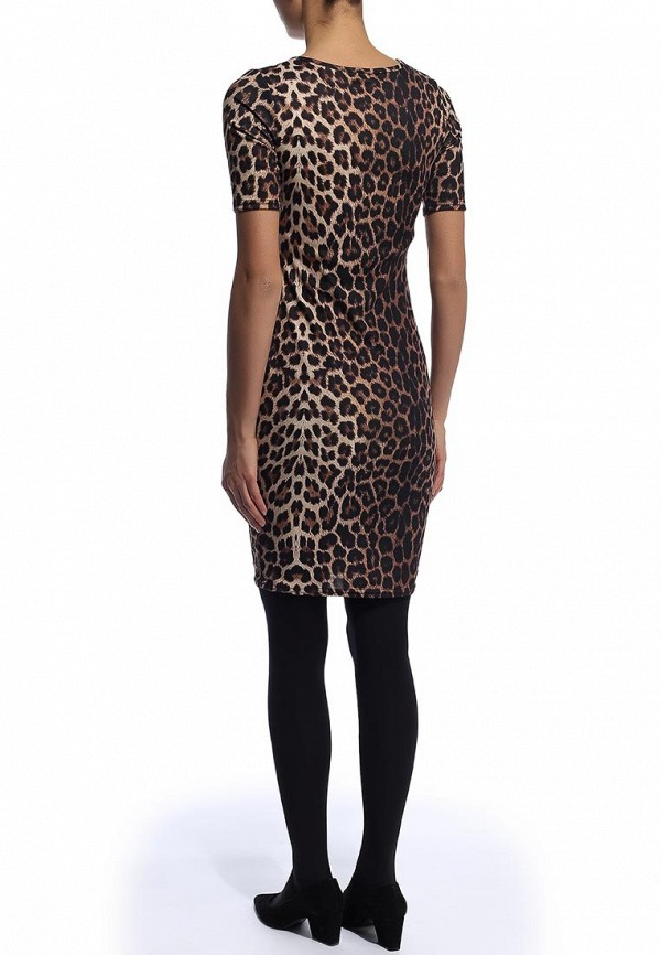 Платье-миди Amplebox 13516B: изображение 4