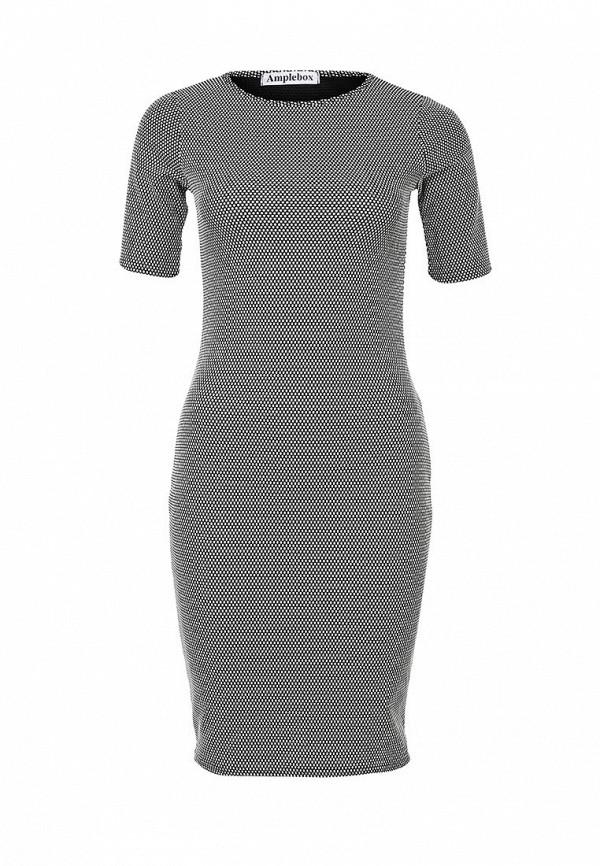 Платье-миди Amplebox 13516C: изображение 1