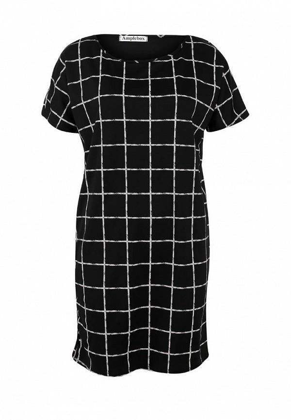 Платье-мини Amplebox 13351A: изображение 1