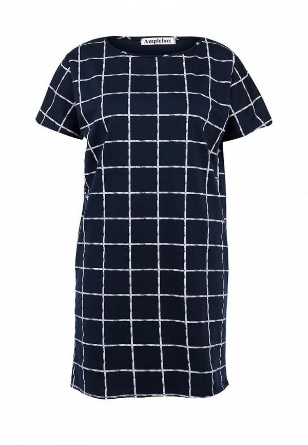 Платье-мини Amplebox 13351B: изображение 1