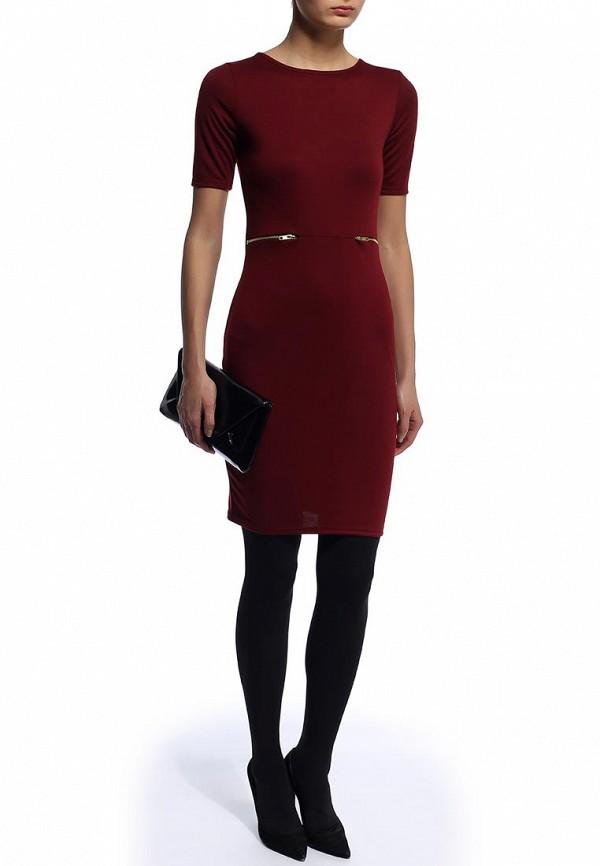 Платье-миди Amplebox 13053: изображение 3