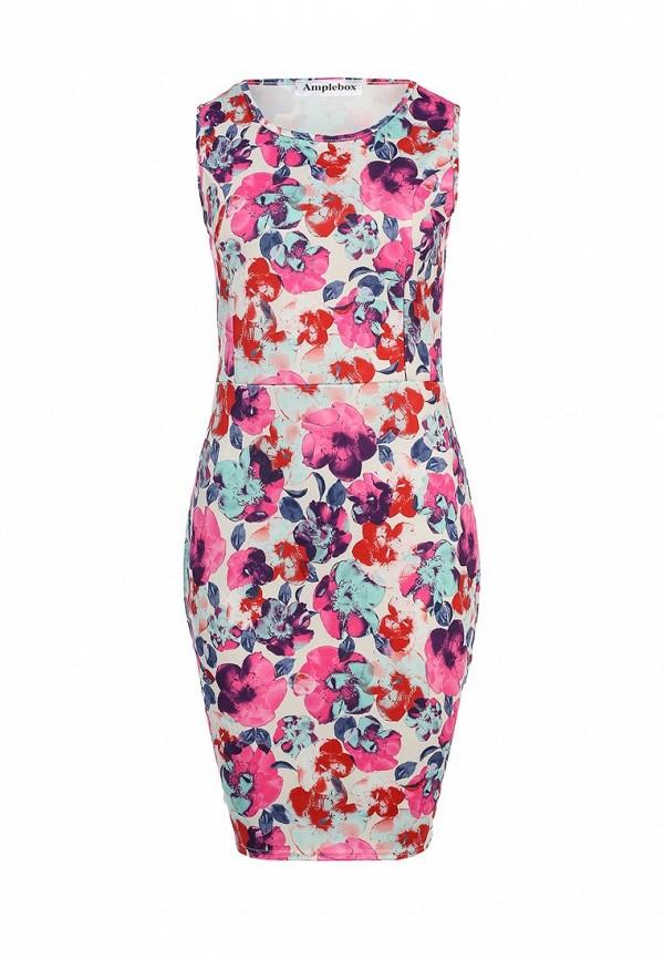 Платье-миди Amplebox 13600B: изображение 1