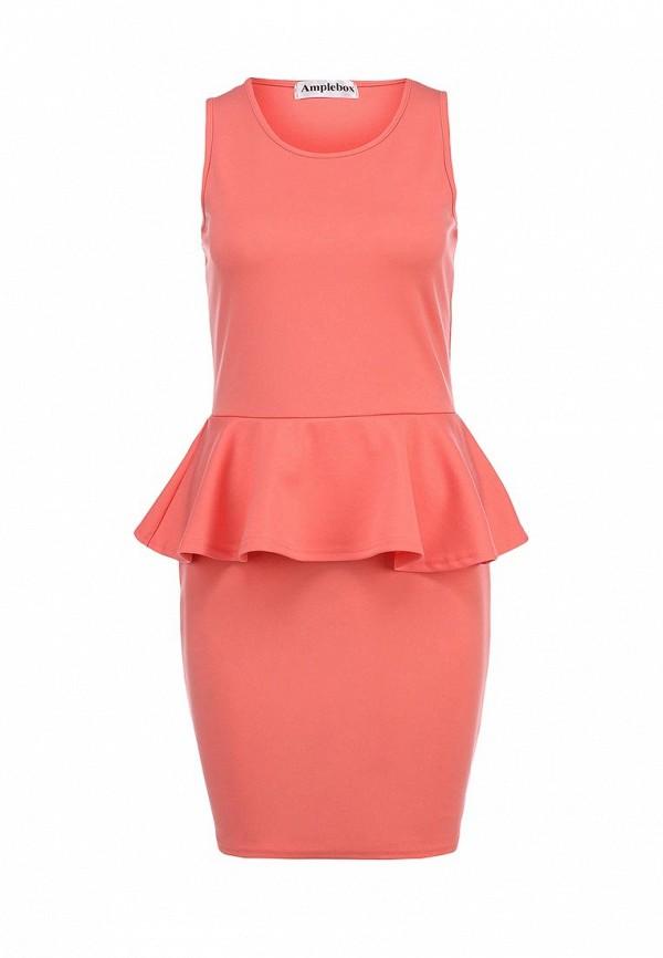 Платье-мини Amplebox 13602: изображение 1