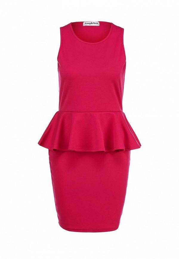 Платье-мини Amplebox 13602A: изображение 1