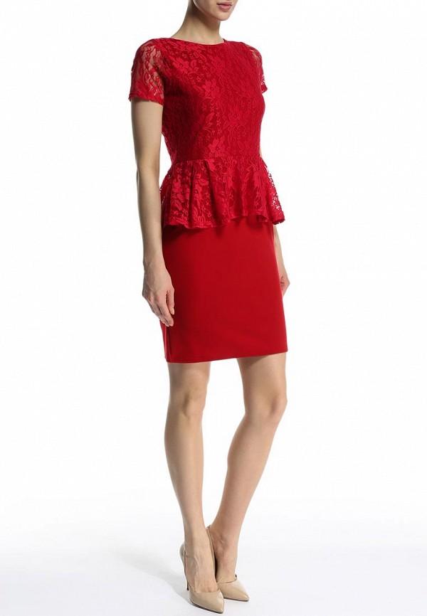 Платье-миди Amplebox 13604B: изображение 3