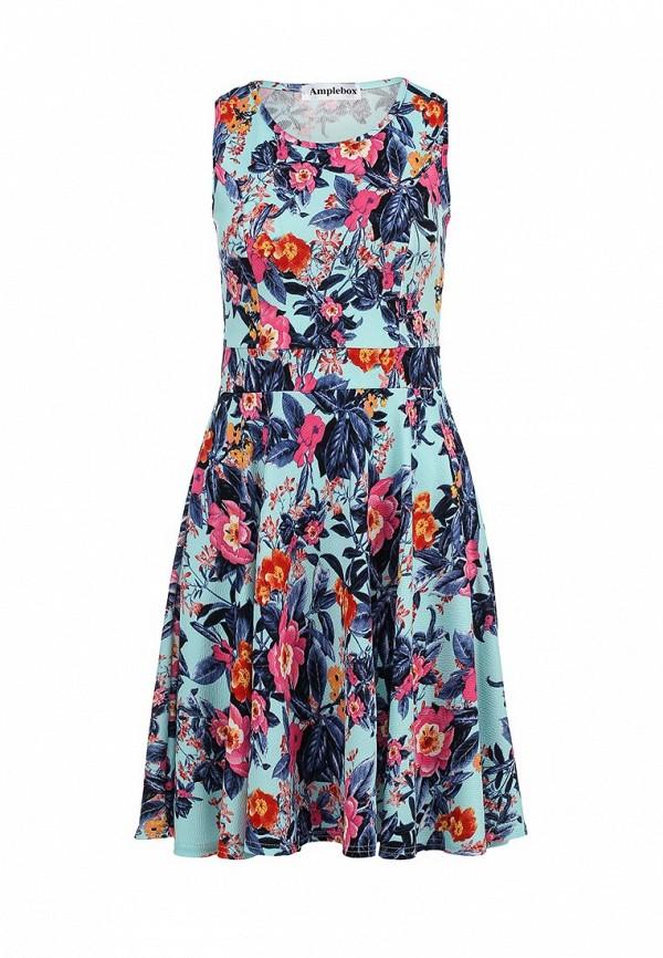 Платье-миди Amplebox 13601A: изображение 1