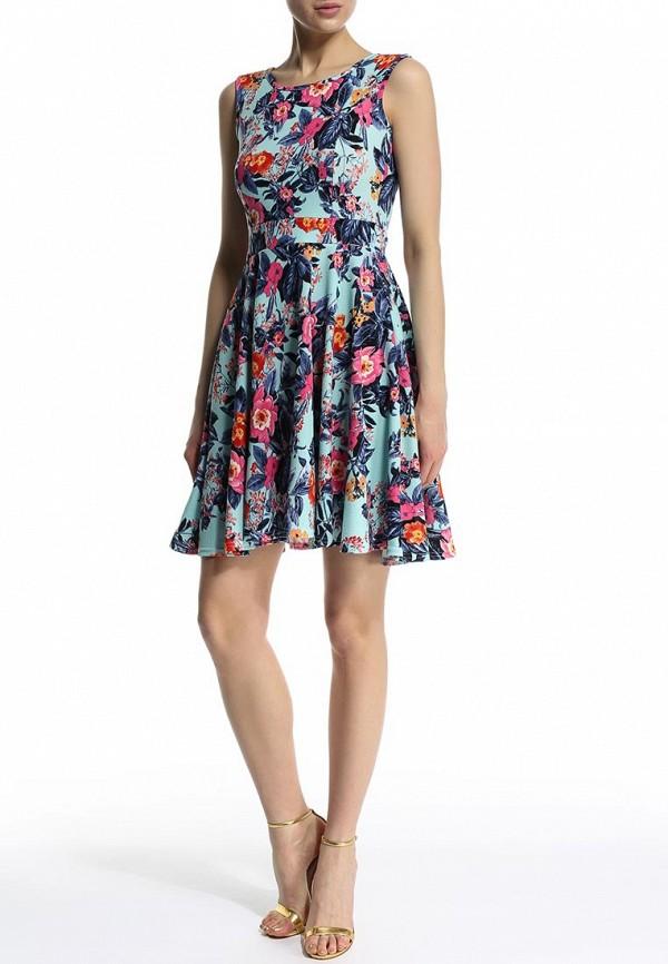 Платье-миди Amplebox 13601A: изображение 3